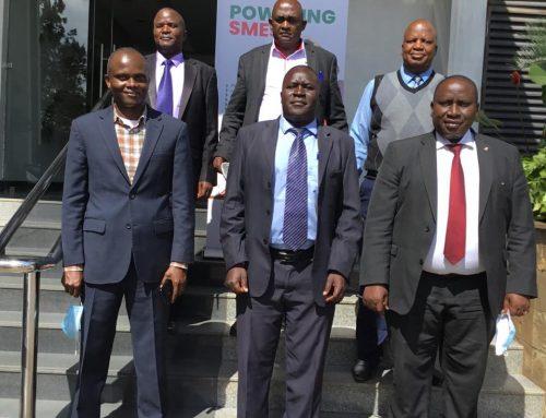 PARTNERSHIP MEETING BETWEEN KNCCI & KENYA NATIONAL FARMERS' FEDERATION(KENAFF).