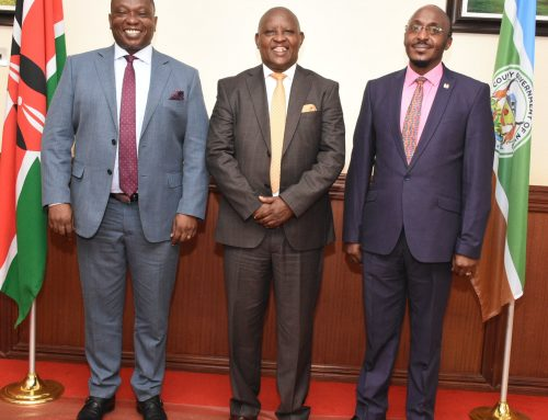 COLLABORATION BETWEEN COUNTY GOVERNMENT OF NYERI AND KNCCI.