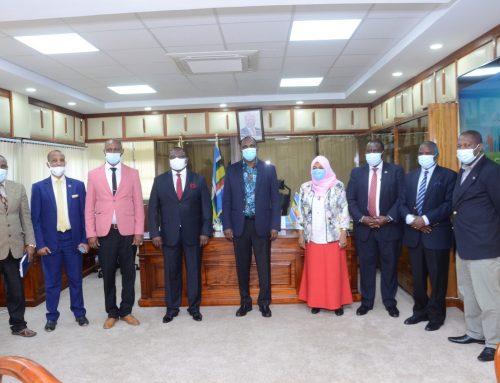 CHAMBER LEADERSHIP MEETING WITH THE CABINET SECRETARY AMBASSADOR UKUR YATANI