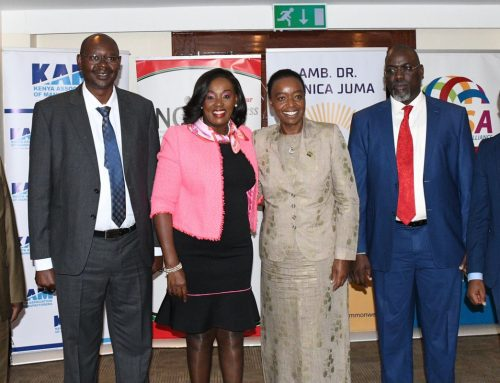 KNCCI ENDORSES AMB. DR. MONICA JUMA (Oxon), EGH FOR THE POSITION OF THE NEXT SECRETARY GENERAL OF THE COMMONWEALTH